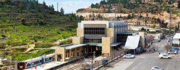 Железнодорожный вокзал Иерусалим-Малха: отели поблизости