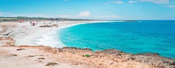 Hotels near Is Arutas Beach