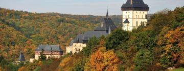 Hotels near Karlštejn Castle