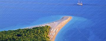 Strand Zlatni Rat: Hotels in der Nähe