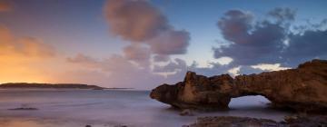 מלונות ליד חוף דור הבונים