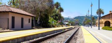 Hotels near Amtrack Station Santa Barbara
