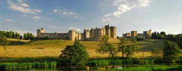 Hotels near Alnwick Castle