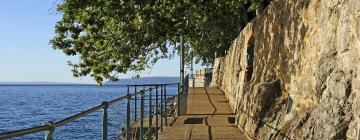 Hotels near Lovran Lungomare Promenade