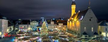 Tallinn Christmas Markets: отели поблизости