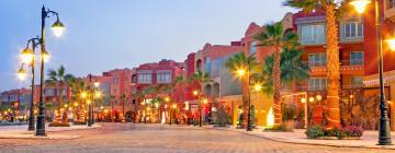 Innenstadt von Hurghada - Saqqala-Platz: Hotels in der Nähe