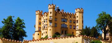 Hrad Hohenschwangau – hotely v okolí