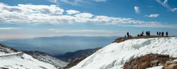فنادق بالقرب من موقع جبل هيرمون للتزلج