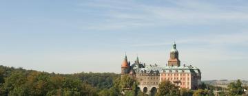 Hotels near Książ Castle