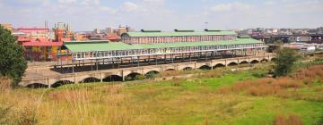 Железнодорожный вокзал Йоханнесбург (Парк): отели поблизости