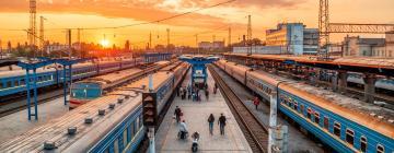 Hotels near Minsk Train Station