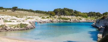 Spiaggia di Porto Badisco: hotel