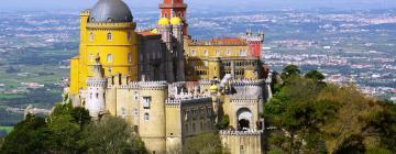 Palácio da Pena -linna – hotellit lähistöllä