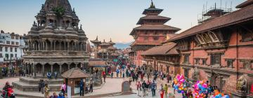 Площадь Дурбар в Патане: отели поблизости