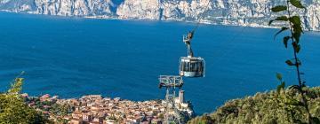 Cable car Malcesine - Monte Baldo – hotely poblíž