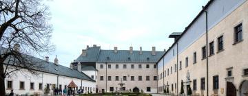 Hotels near Cerveny kamen Castle