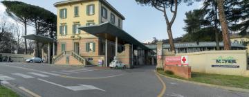 Hotellid huviväärsuse Lastehaigla Azienda Ospedaliero Universitaria Meyer lähedal