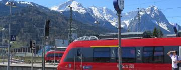 Bahnhof Garmisch-Partenkirchen: Hotels in der Nähe