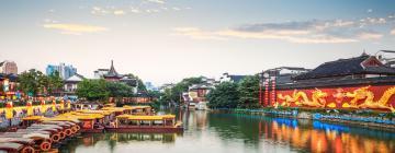 Hotels near Qinhuai River