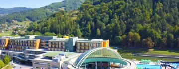 Термальный спа-комплекс Lasko: отели поблизости