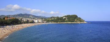 Strand Platja de Fenals: Hotels in der Nähe