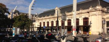 Bahnhof Bordeaux-Saint-Jean: Hotels in der Nähe