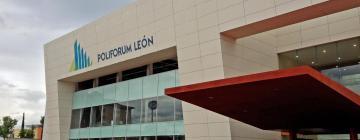 Hoteles cerca de Poliforum León
