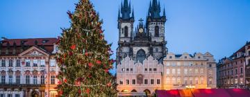 Pražské vánoční trhy – hotely poblíž
