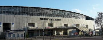 Hotels near Aube Stadium