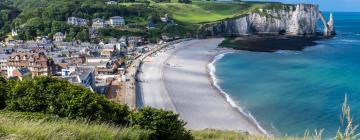 Пляж Этрета: отели поблизости