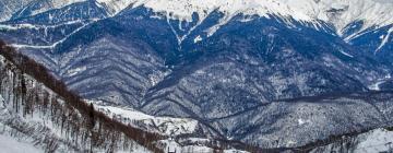 Горнолыжный подъемник Газпром: отели поблизости