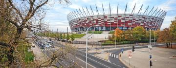 Национальный стадион в Варшаве: отели поблизости