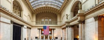 Železničná stanica Union Station – hotely v okolí