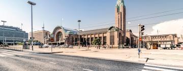 Центральный железнодорожный вокзал Хельсинки: отели поблизости