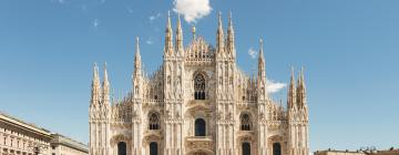 Hotelek a milánói dóm közelében