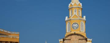 Hotels near Cartagena's Clock Tower