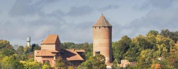 Hotellid huviväärsuse Turaida Castle lähedal