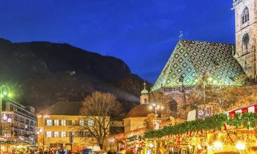 Hotell nära Bolzanos julmarknad