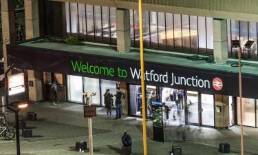 Stazione di Watford Junction: hotel