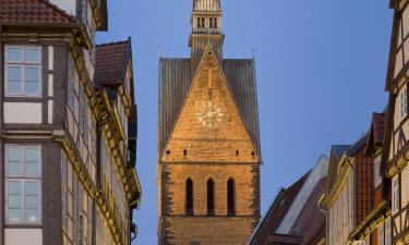 Città Vecchia di Hannover: hotel