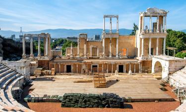 Roman Theatre Plovdiv: отели поблизости