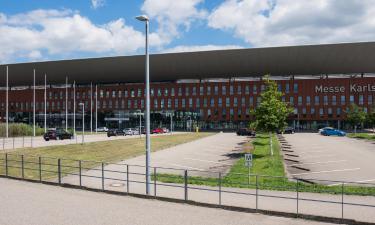 Торгово-выставочный центр Карлсруэ: отели поблизости