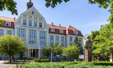 Hotels near Gdańsk Medical University