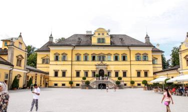 Hellbrunn - Schloss und Wasserspiele: Hotels in der Nähe