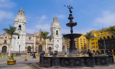Hotels near Plaza Mayor of Lima
