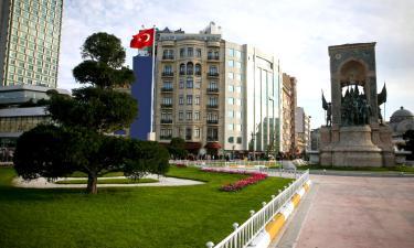 Hotels near Taksim Square