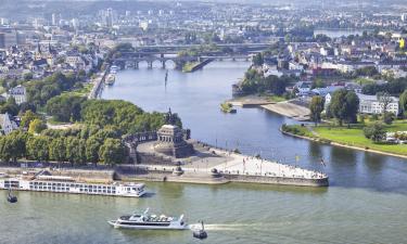 Deutsches Eck: Hotels in der Nähe