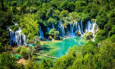 Hotels near Kravica Waterfall