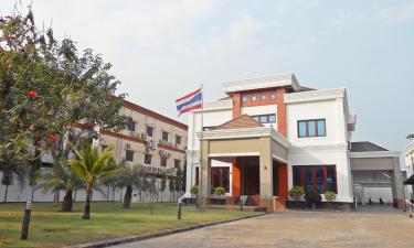โรงแรมใกล้สถานเอกอัครราชทูตไทย เวียงจันทน์