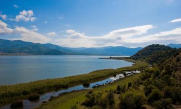 Hotels near Megali Prespa Lake